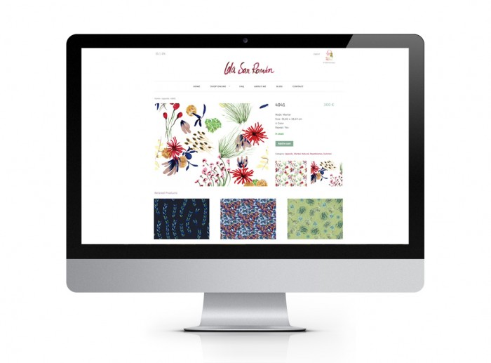 LOLA SAN ROMAN – Web & Shop Online