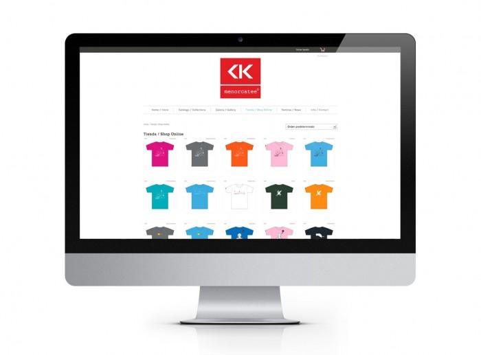 MENORCATEE. Web & Shop Online