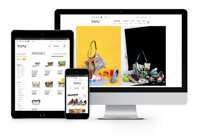 peSeta. Web site / shop online